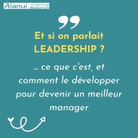 Et si on parlait leadership ?